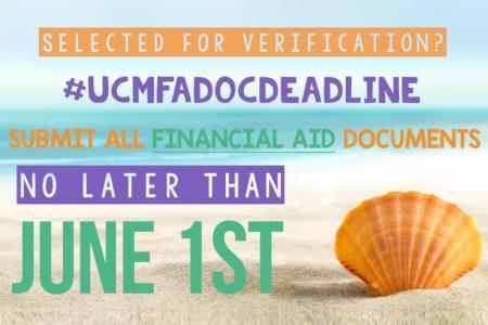 June 1st Deadline